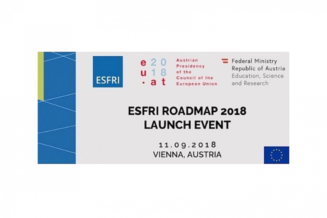 ESFRI ROADMAP 2018 LAUNCHED IN VIENNA
