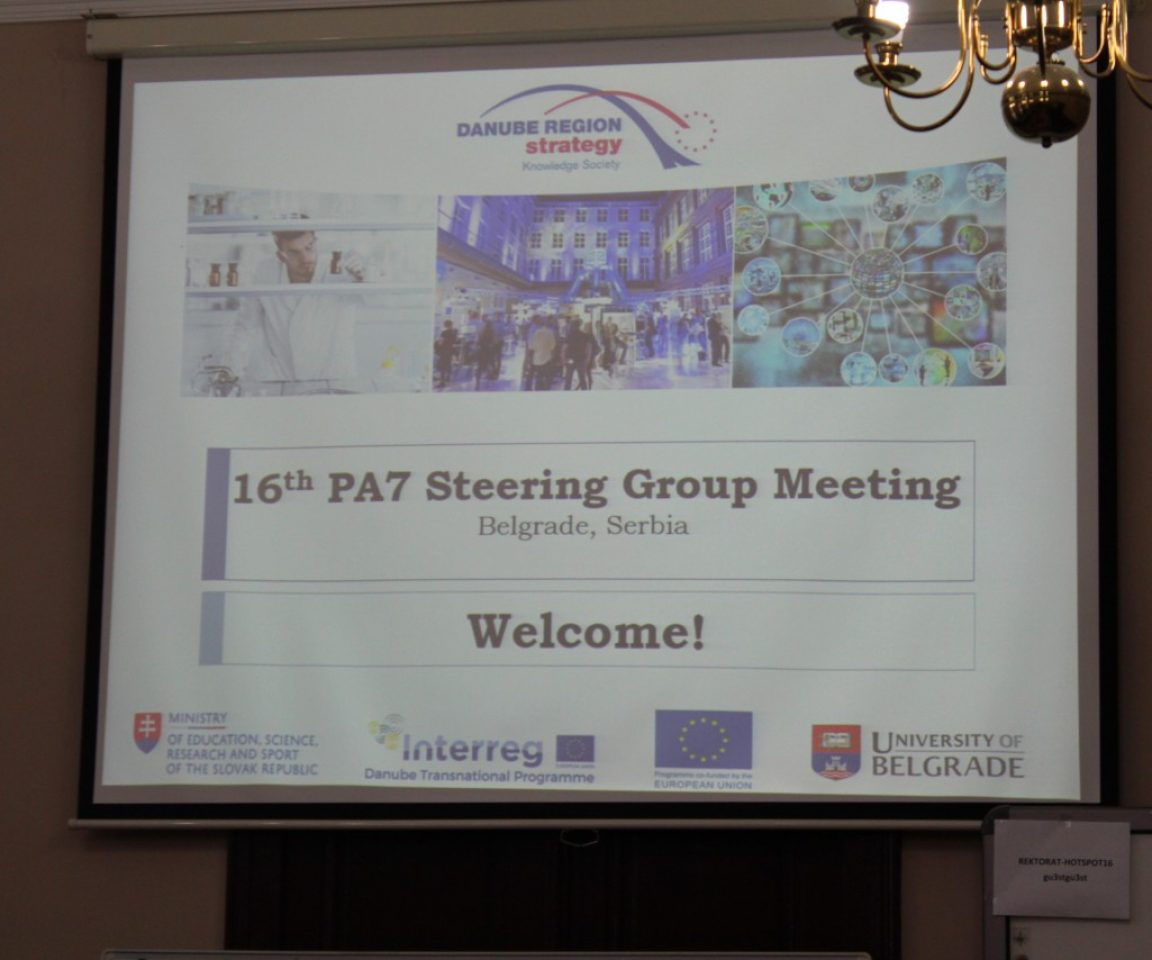 16th PA7 SG MEETING