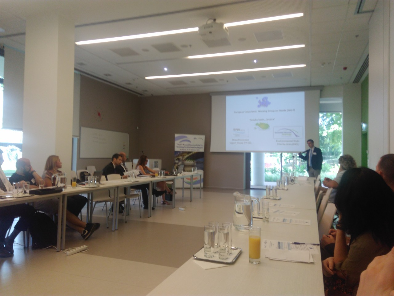PA7 TOOK PART IN INTERNATIONAL WORKSHOP ON THE DANUBE REGION FLOOD PROTECTION EDUCATION, 29.6.2017