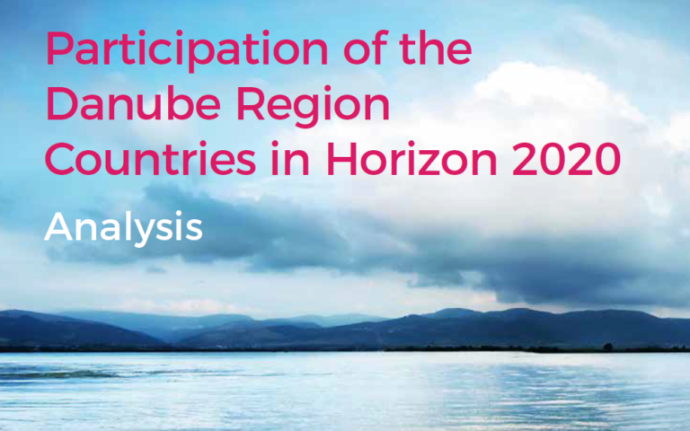 Participation of the Danube Region Countries in Horizon 2020 – Analysis